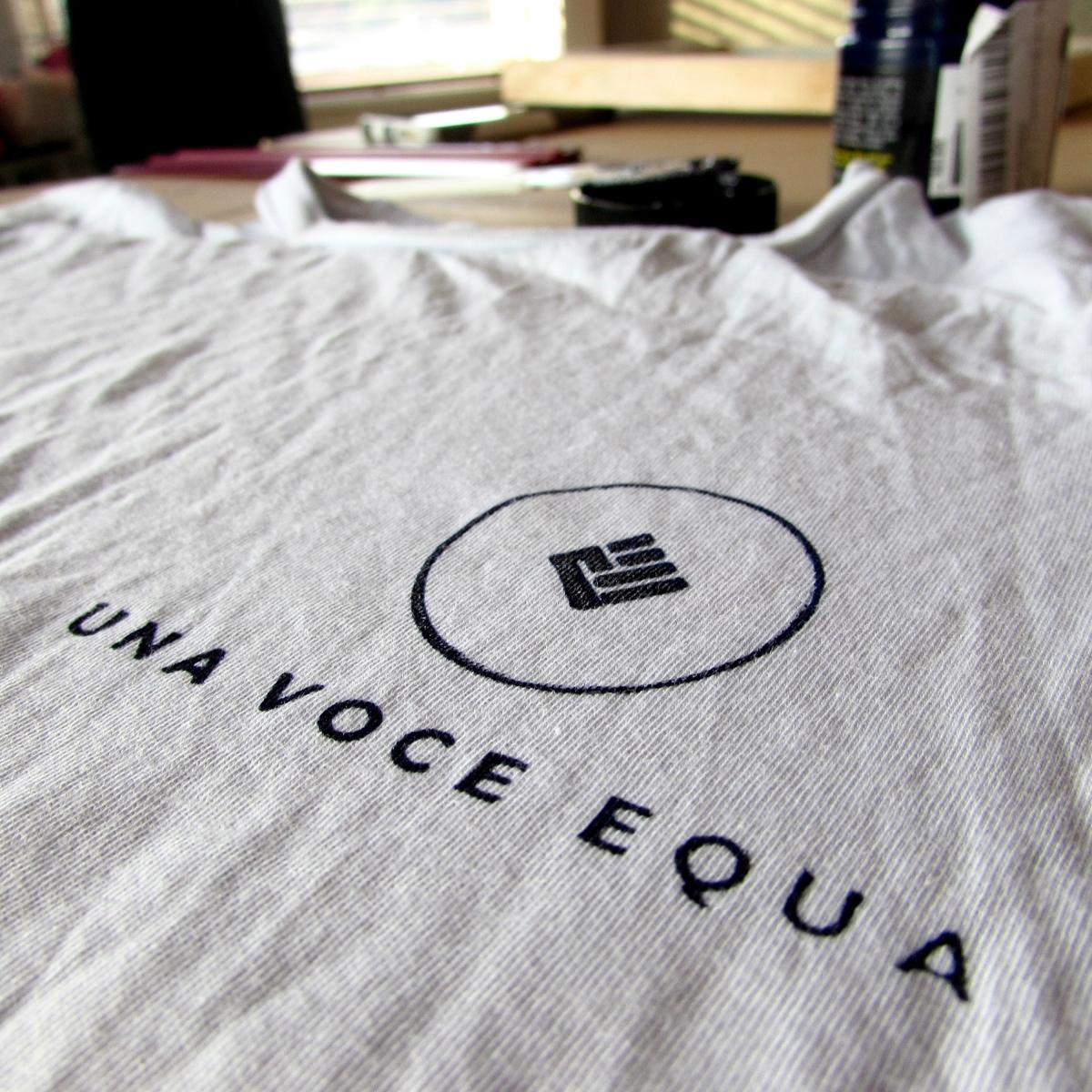 d5a07adbb Custom Logo & Screen Print Tees – Una Voce Equa